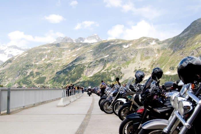22. Motorradsegnung auf der Kölnbreinsperre – Malta Hochalmstraße