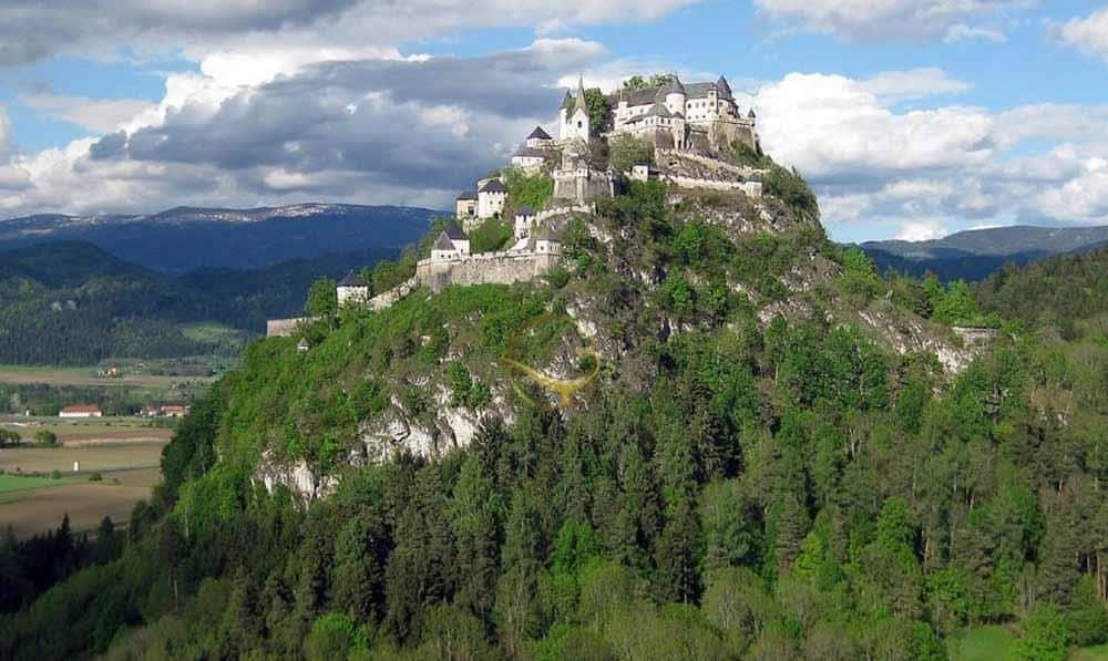 Ansicht Burg Hochosterwitz Österreich