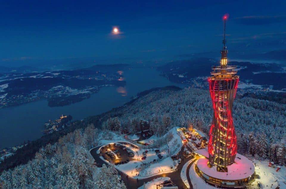 Ausflugsziele Kärnten Winter Pyramidenkogel Advent