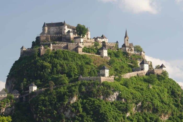 Ritterfest auf der Burg Hochosterwitz