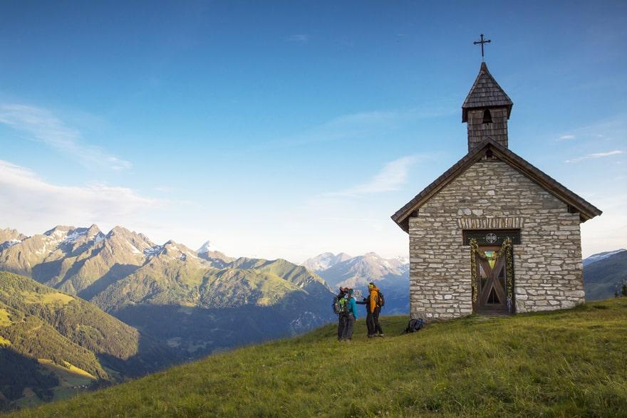 Wanderurlaub Nationalpark Hohe Tauern Kärnten Mohar Kapelle