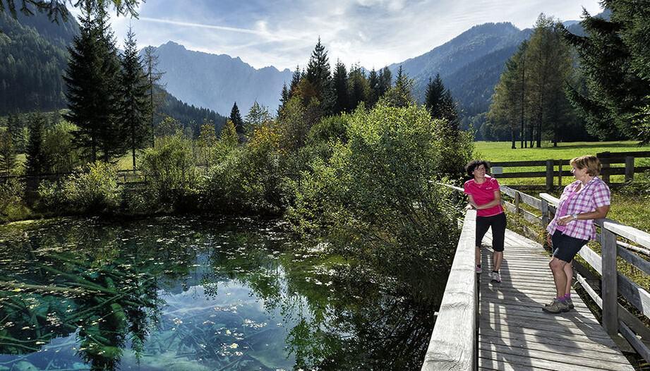 Sehenswürdigkeit Meerauge im Rosental Kärnten Bodental