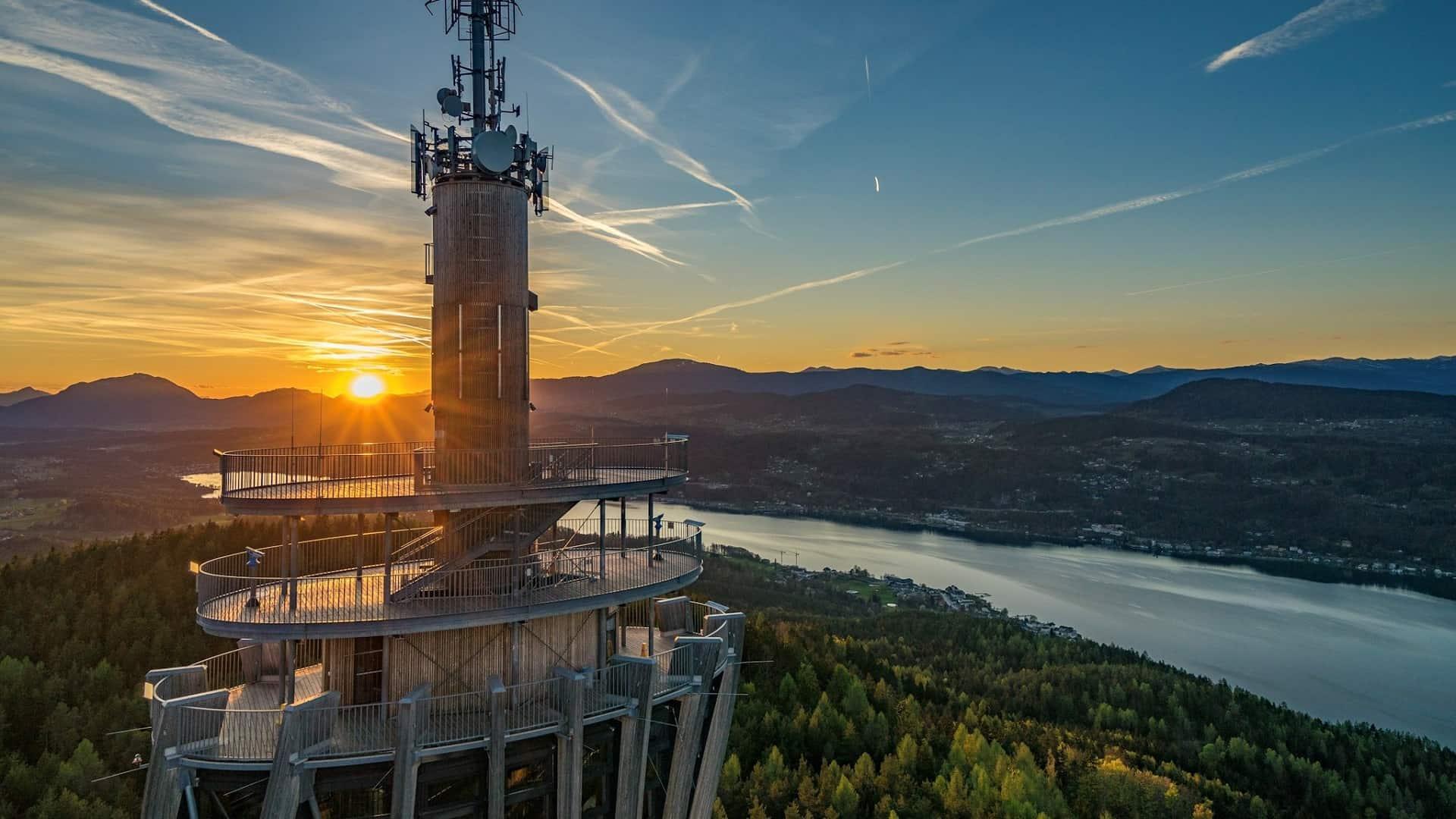 Pyramidenkogel Keutschach Wörthersee Kärnten TOP Ausflugsziele