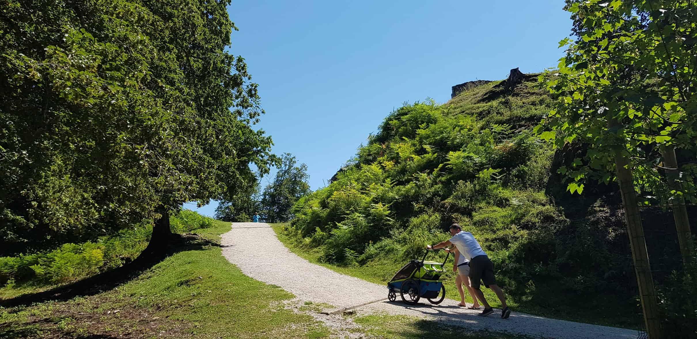 Ausflug mit Baby in Kärnten im kinderfreundlichen Tierpark Rosegg