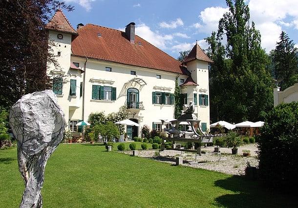 Ausflugstipp Carnica Region Rosental Schloss Ebenau Kärnten Feistritz