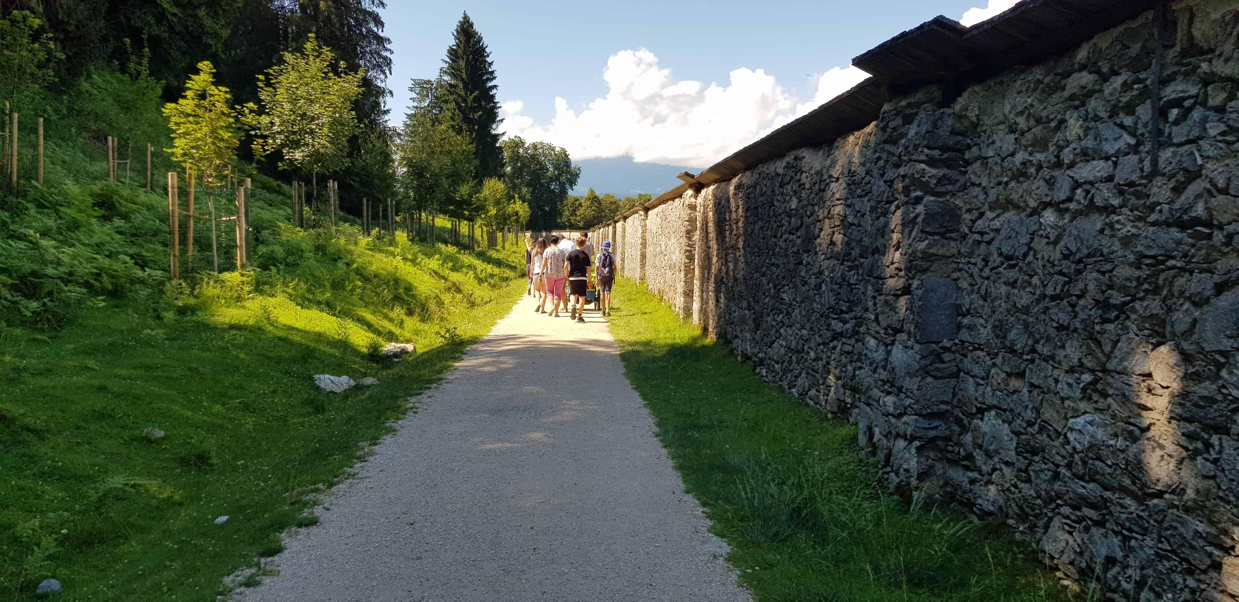 Ausflugsziel für Familie Tierpark Rosegg Rundweg