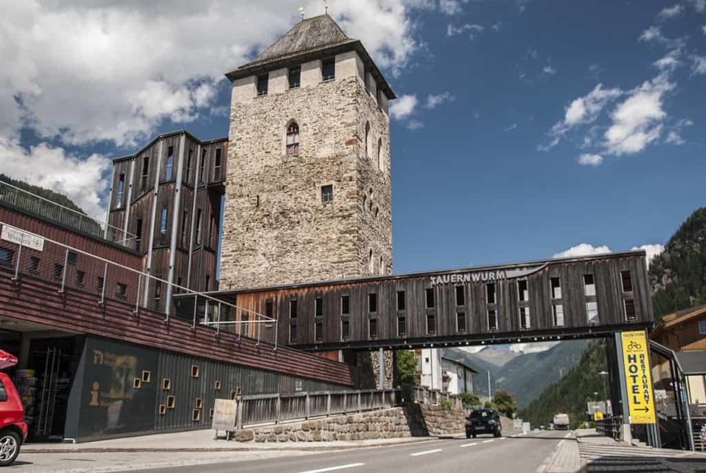 Ausflugsziel Mautturm Winklern Nationapark Hohe Tauern Känrten