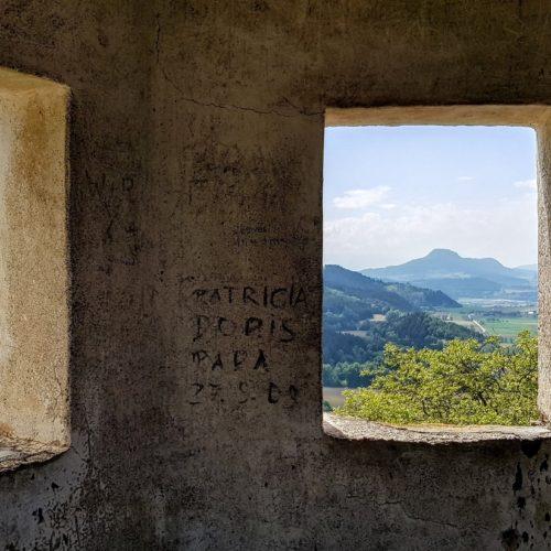 Aussichtspunkte Burg Hochosterwitz Kärnten in Österreich