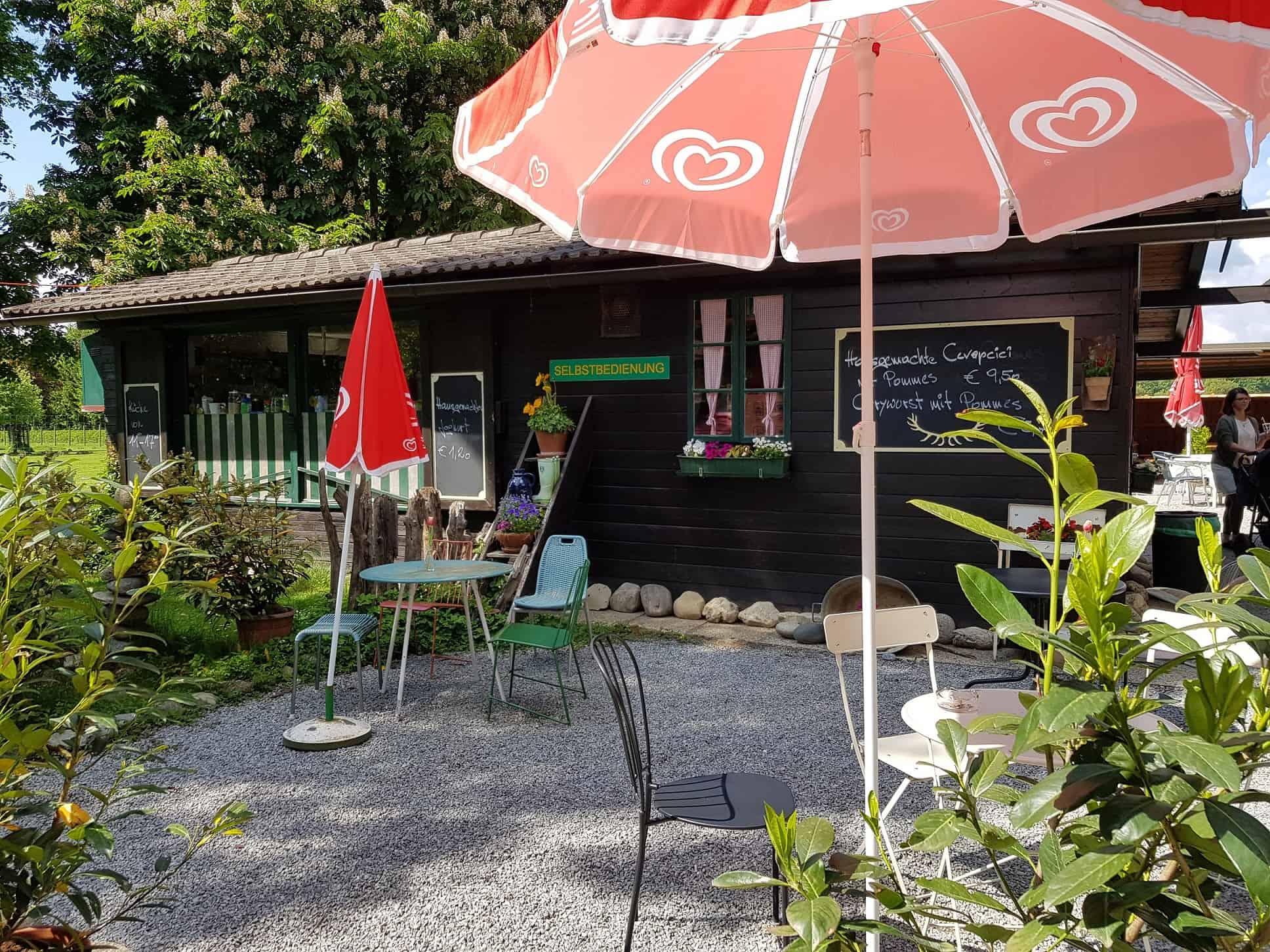 Buffet Ausflugsziel Tierpark Rosegg Kärnten