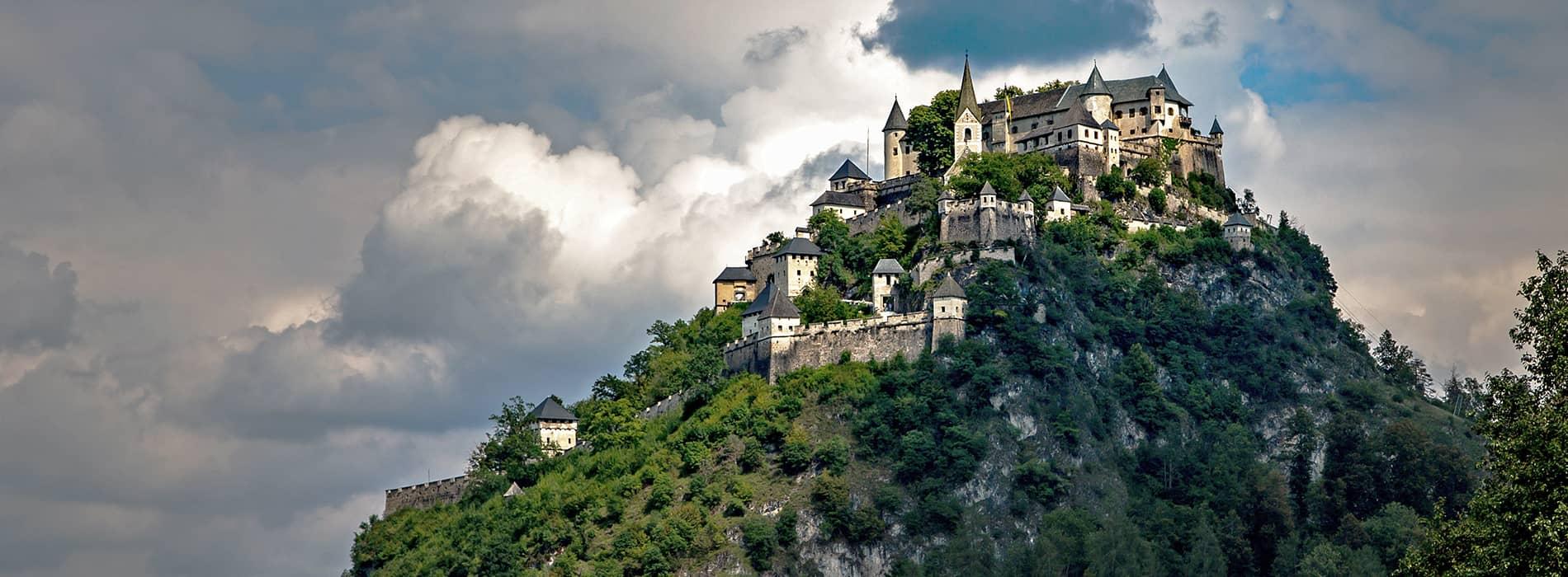 Kärntens TOP Ausflugsziele. Mittelkärnten - Burg Hochosterwitz