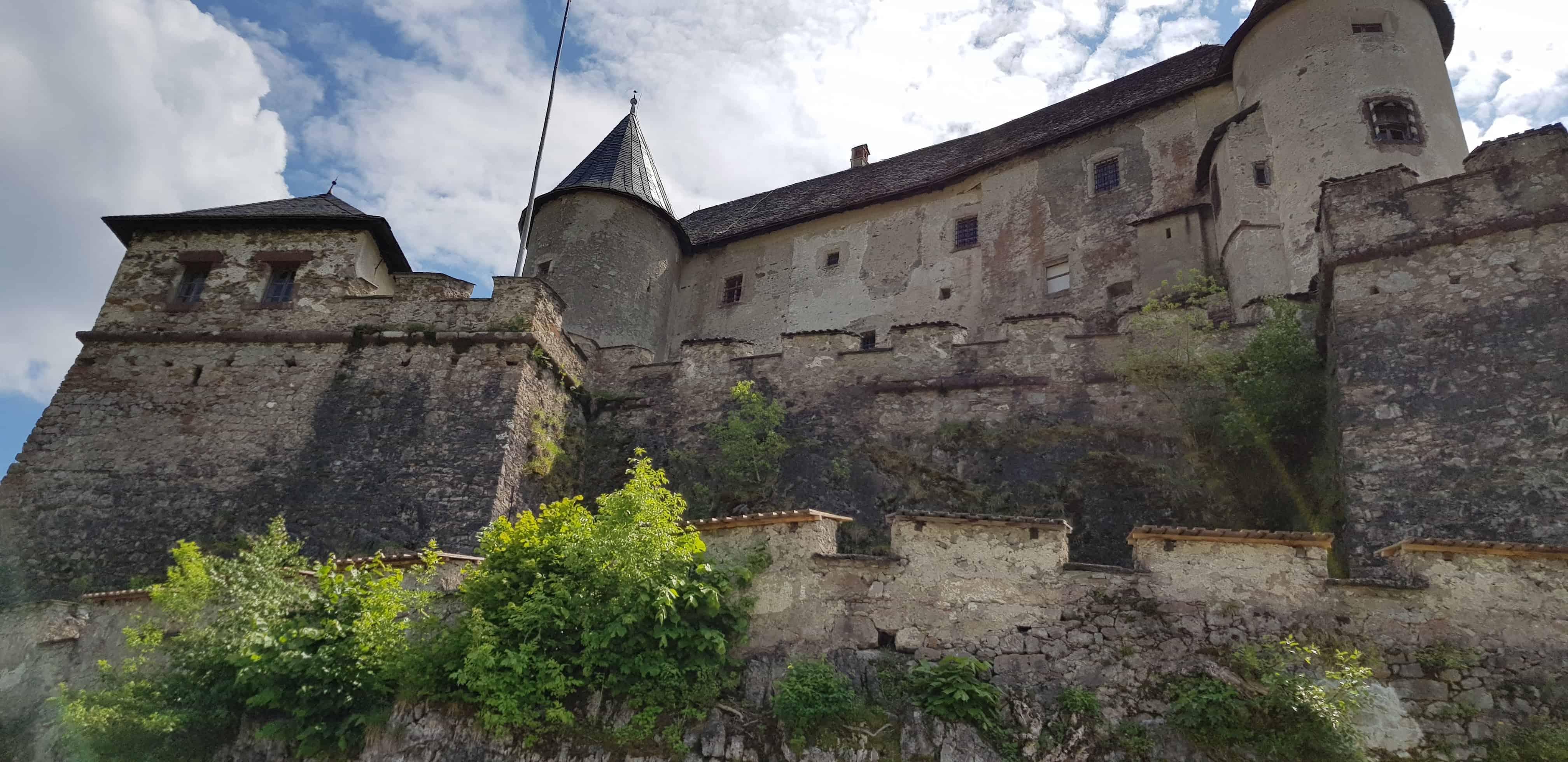 Historische und mittelalterliche Burganlage Burg Hochosterwitz Kärnten