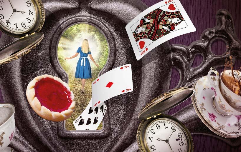 Alice im Wunderlang Escaperoom Klagenfurt