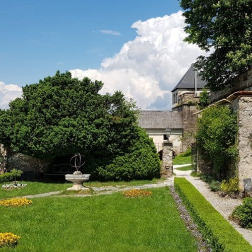 Rosengarten Burg Hochosterwitz