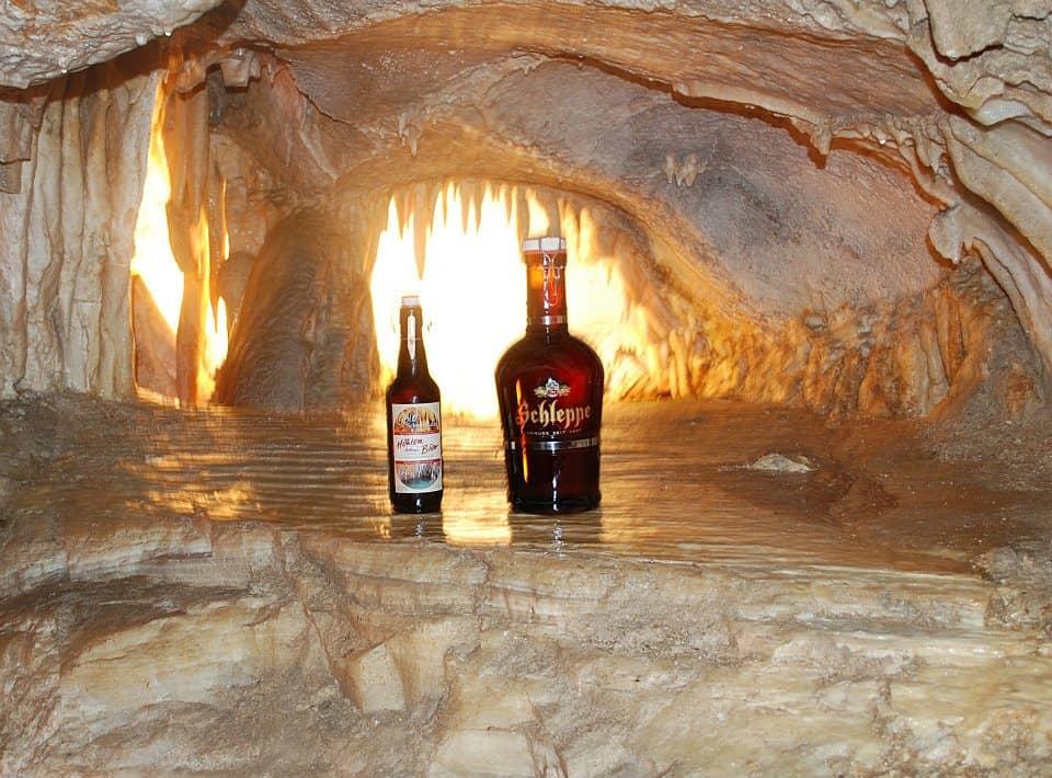 Höhlenbier - Spezialitäten in den Obir Tropfsteinhöhlen in der Region Klopeinersee-Südkärnten - beste Ausflugsziele Kärnten