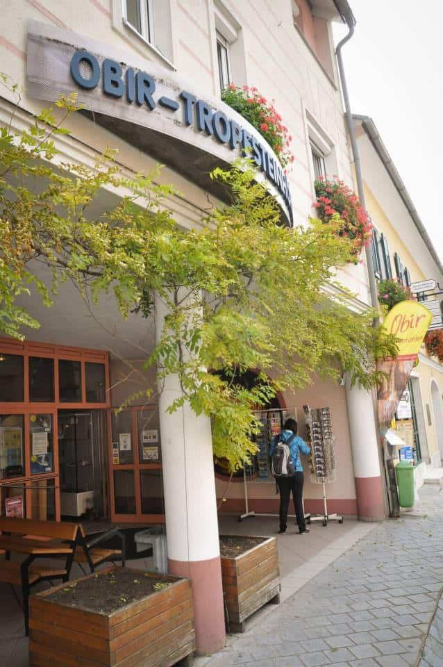 Informations- und Besucherzentrum der Obir Tropfsteinhöhlen in Bad Eisenkappel in Süd-Kärnten