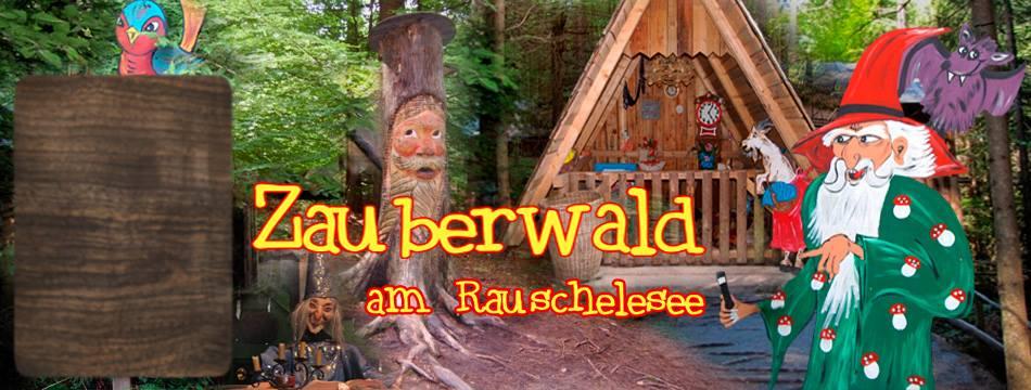 Kinderfreundliches Ausflugsziel Zauberwald Rauschelesee Region Wörthersee