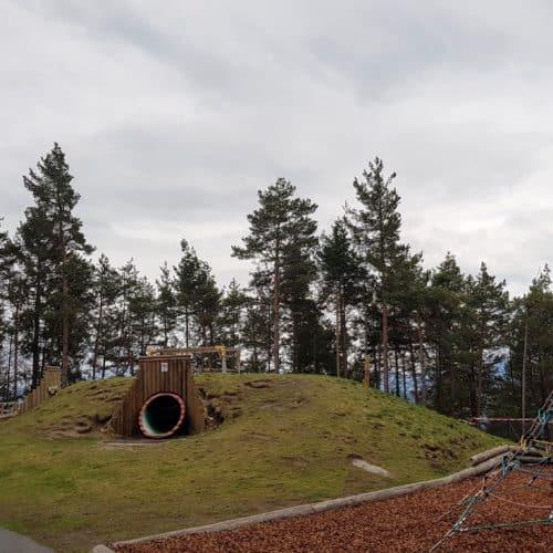 Kinderspielplatz am Pyramidenkogel - schöner Familienausflug am Wörthersee