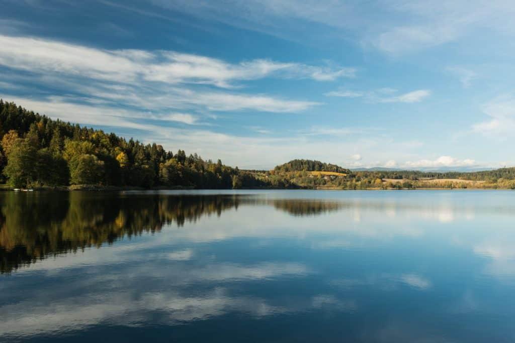 Längsee Mittelkärnten See in Kärnten