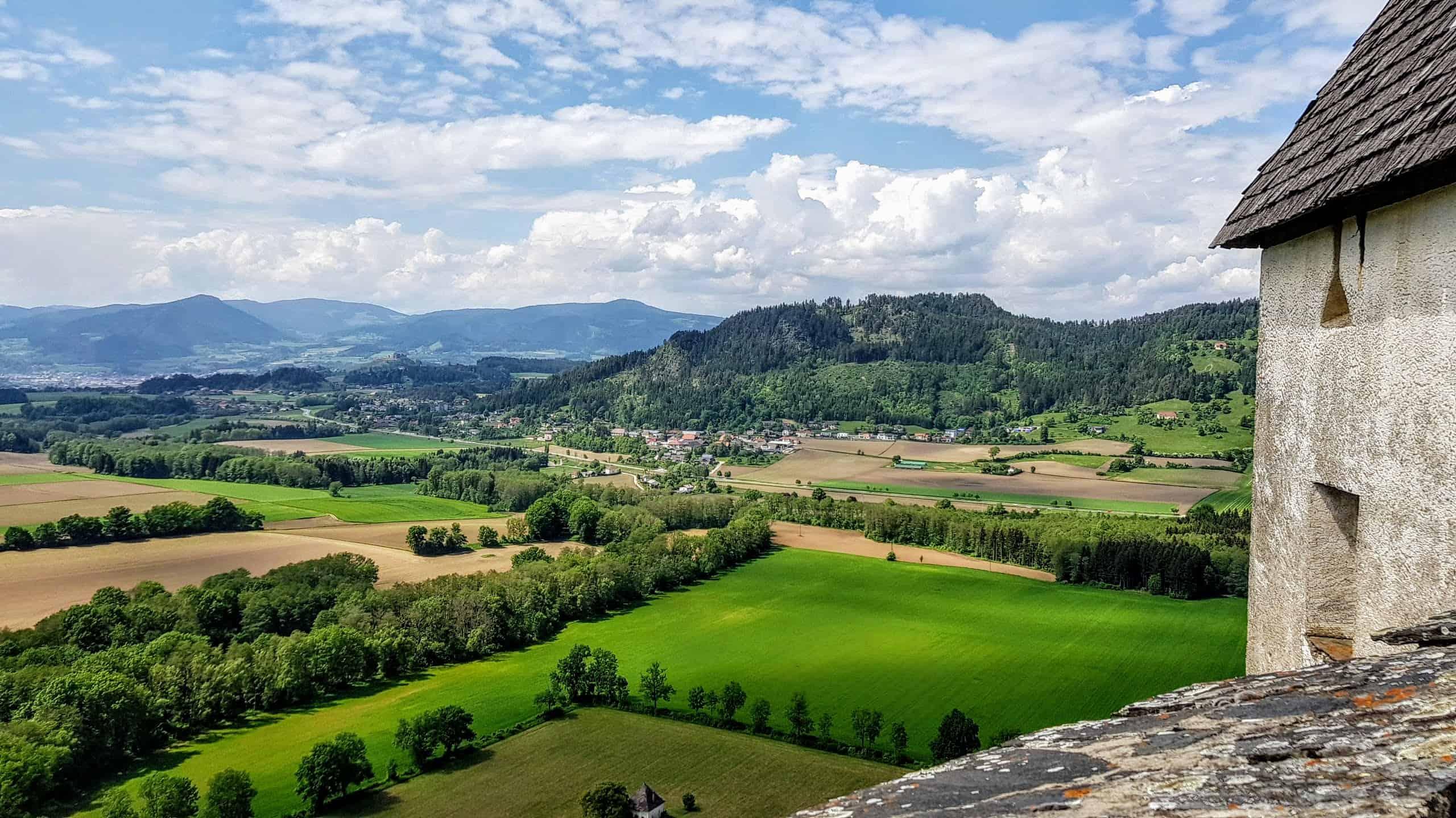 Aussichtsreiche Wanderung auf die Burg Hochosterwitz in Mittelkärnten mit Panorama-Blick-Garantie.