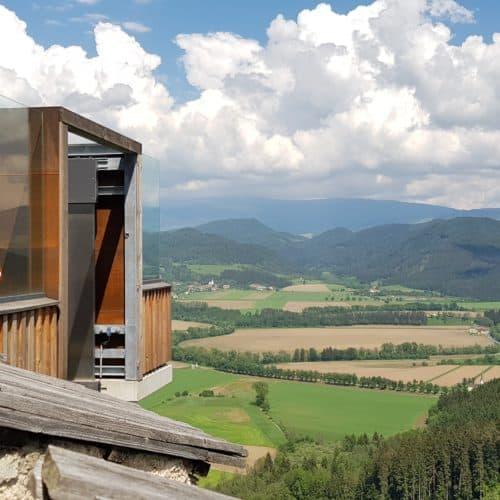 Lift auf Burg Hochosterwitz macht Ausflugsziel in Österreich auch barrierefrei