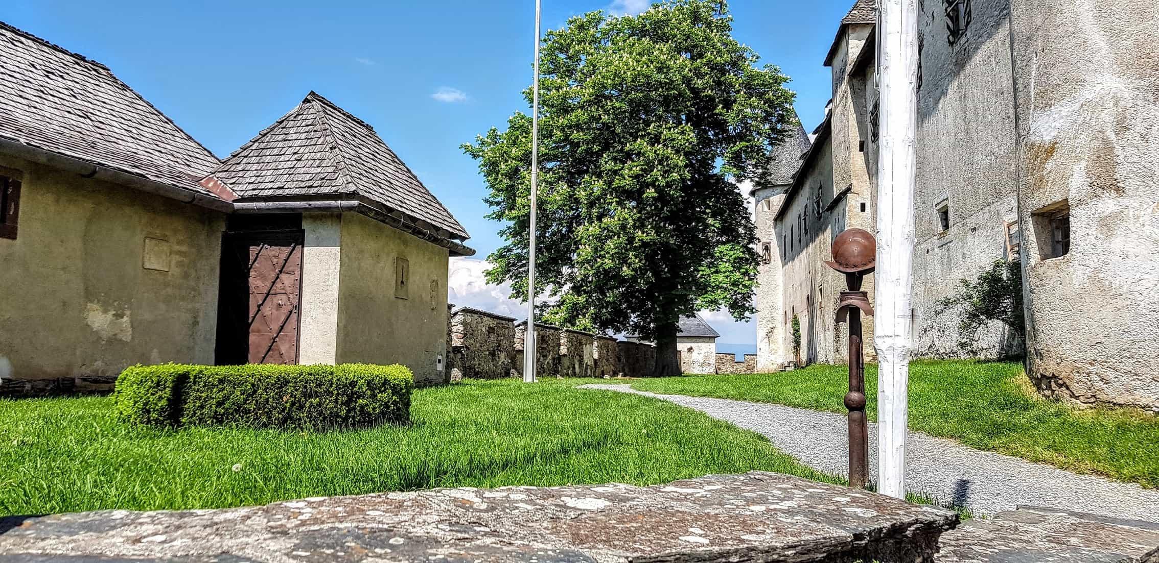 Mittelalterliche Burganlage Hochosterwitz in Kärnten