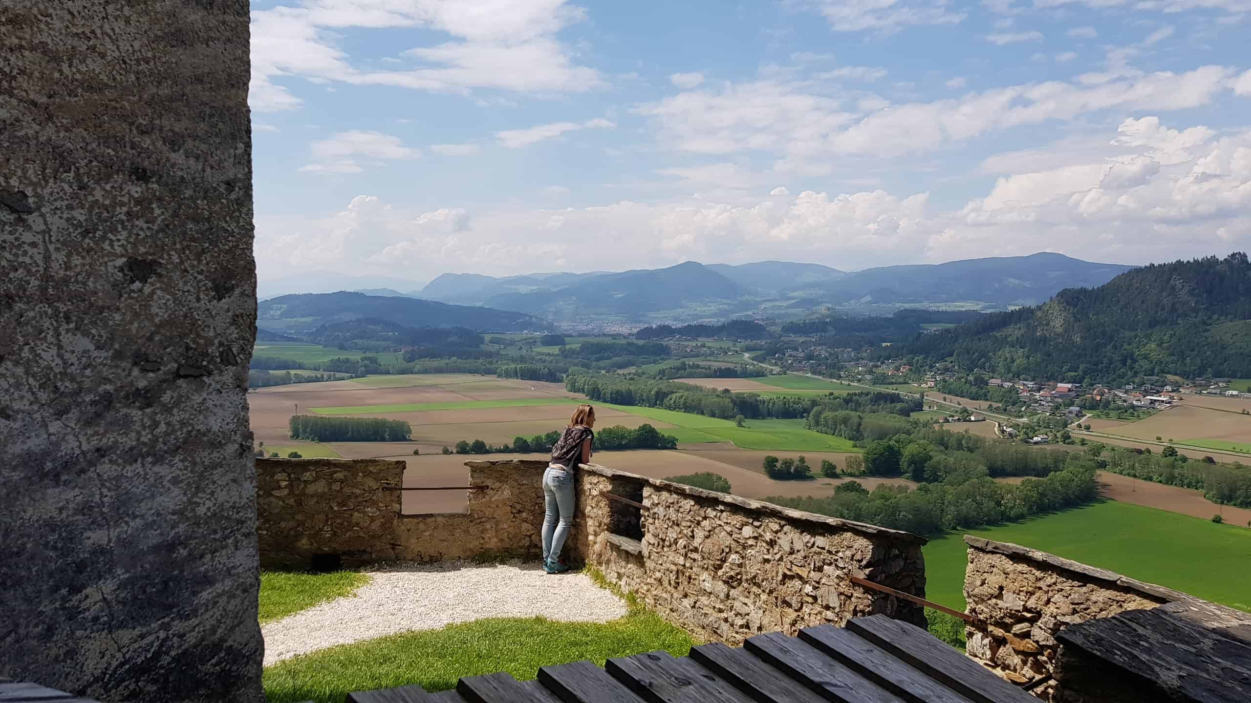 Panoramawanderung auf Burg Hochosterwitz für ganze Familie Kärnten