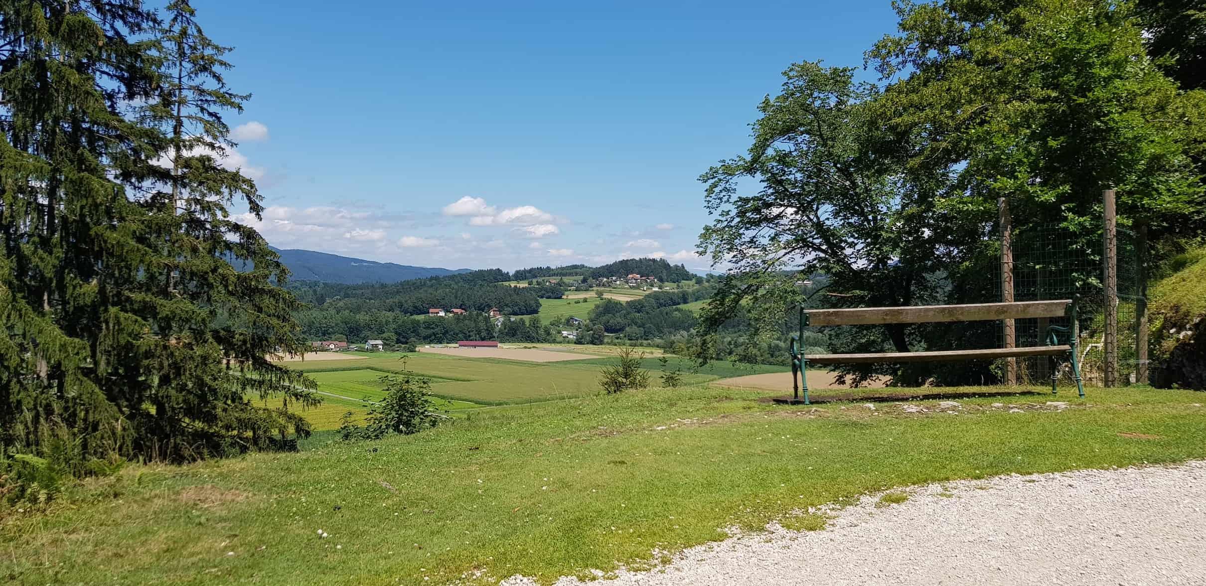 Rastplatz Ausflug Tierpark Rosegg Kärnten