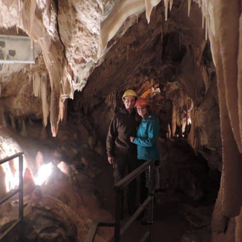 Höhlenrundgang und Führung in den Obir Tropfsteinhöhlen Region Klopeinersee Südkärnten - Bild Besucher