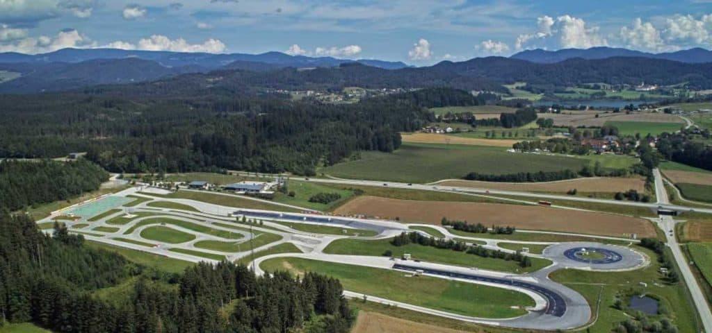 Aktivitäten und Sehenswürdigkeiten in Mittelkärnten Strecke Fahrsicherheitszentrum ÖAMTC St. Veit
