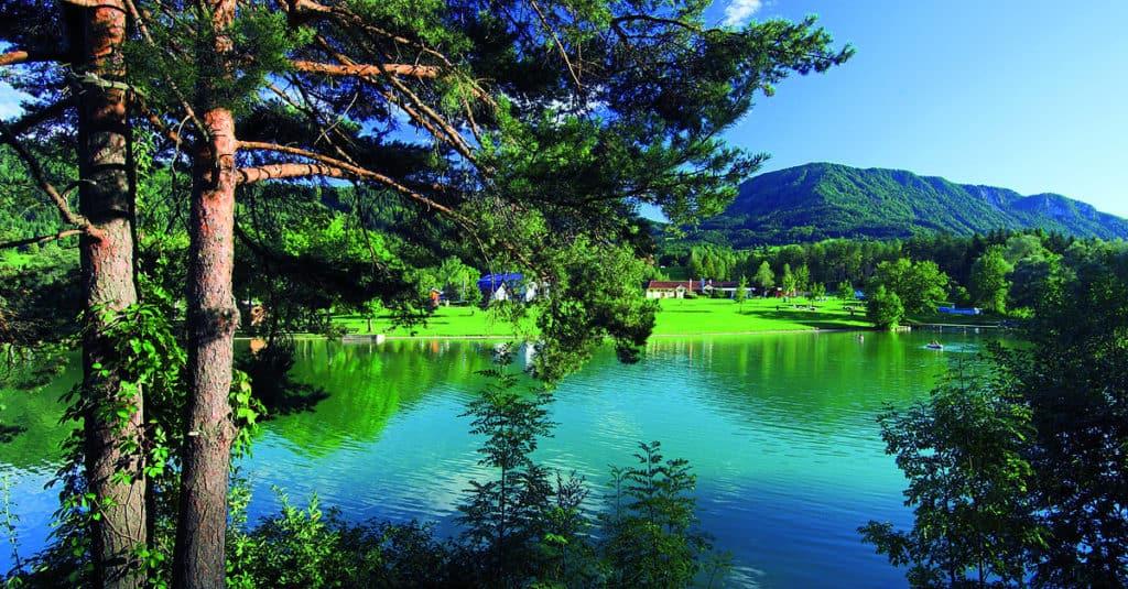 Sonnegger See Südkärnten Acoustic Lakeside Aktivitäten Kärnten