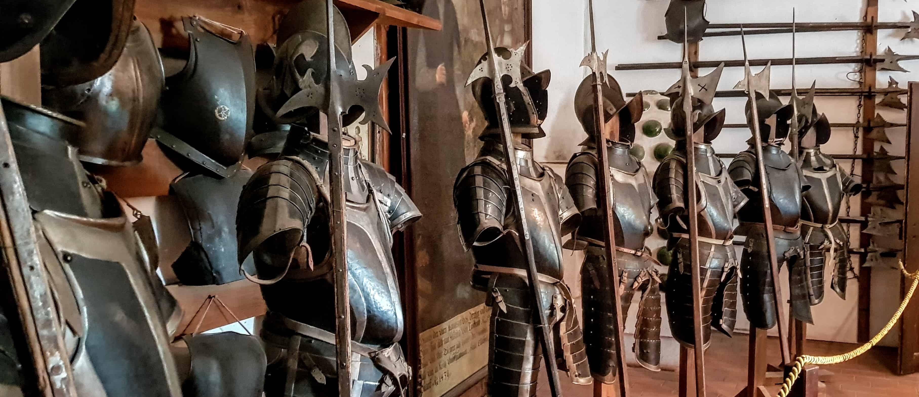 Museum auf der Burg Hochosterwitz - Rüstungen