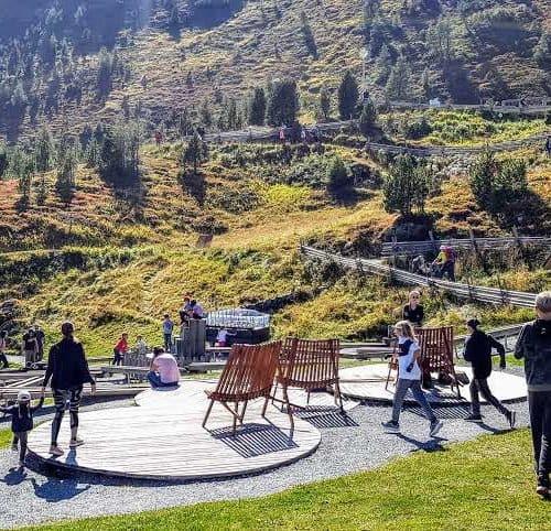 Ausflugstipps für Familien mit Kindern in Kärnten: Erlebnisspielplatz Nockys Almzeit auf der Turracher Höhe