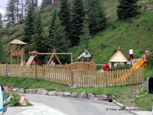 Kinderspielplätze entlang der Großglockner Hochalpenstraße - Österreichs schönste Panoramastraße und beliebtes Familienausflugsziel