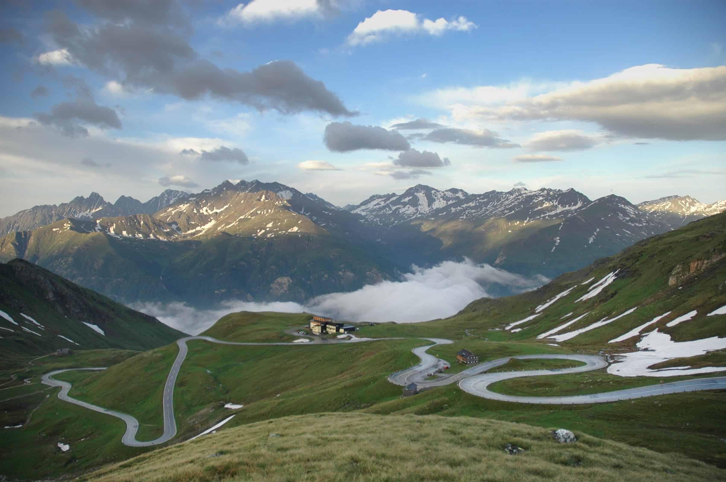 Großglockner Hochalpenstraße Alpen Ausflugsziel Österreich Bergpanorama