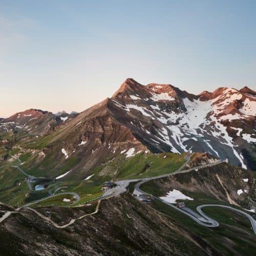 Großglockner Hochalpenstraße Panoramastraße Österreich Alpen