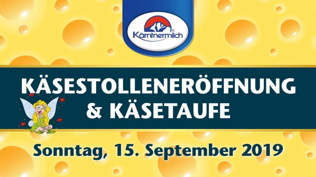 Käsestollen-Eröffnung und Käsetaufe der Kärntnermilch