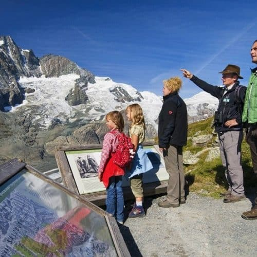 Wandern Nationalpark Hohe Tauern Großglockner Hochalpenstraße mit der ganzen Familie und kostenlosem Ranger