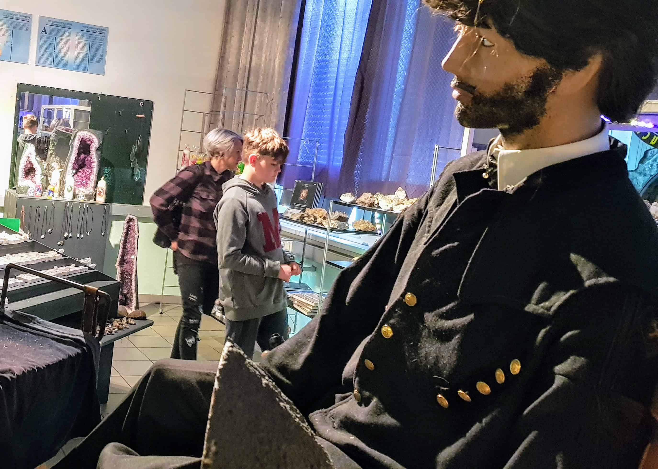 Museum und Ausstellung mit Edelsteinen im Schaubergwerk Terra Mystica in Kärnten - Österreich