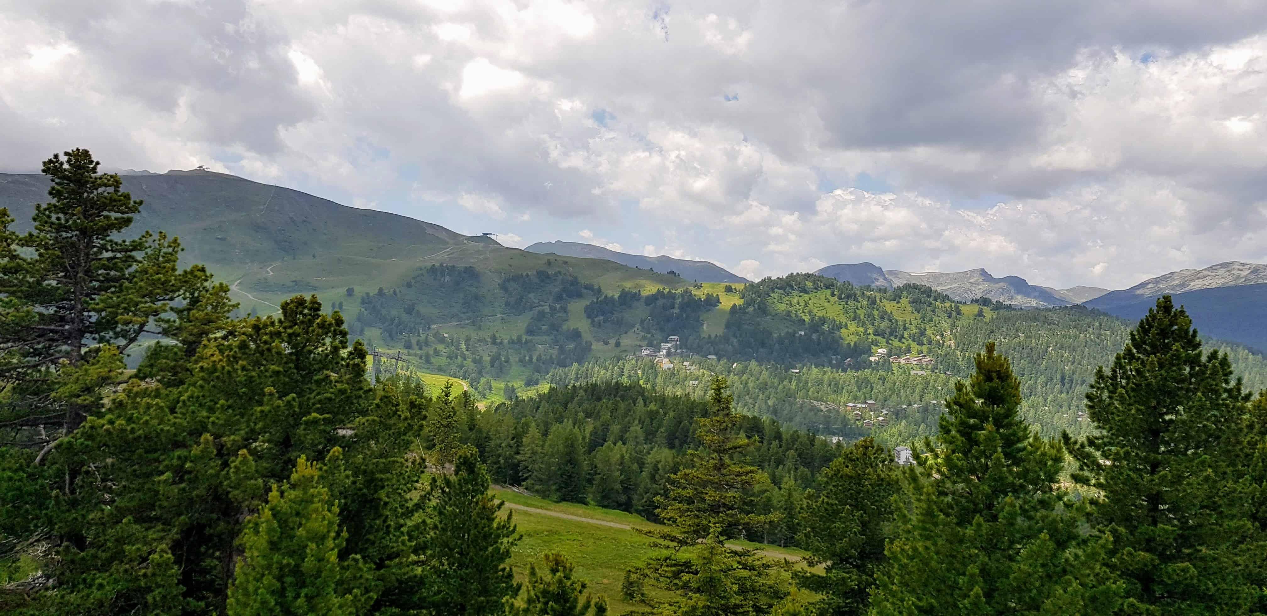 Die schönen Nockberge rund um die Turracher Höhe in Kärnten und Steiermark in Österreich. Beliebtes Wander- und Urlaubsgebiet.