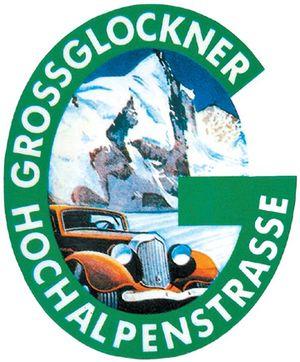 Österreichs Panoramastraße Großglockner Hochalpenstraße Logo Ausflugsziel