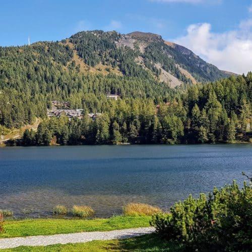 Turracher See zwischen Kärnten und Steiermark