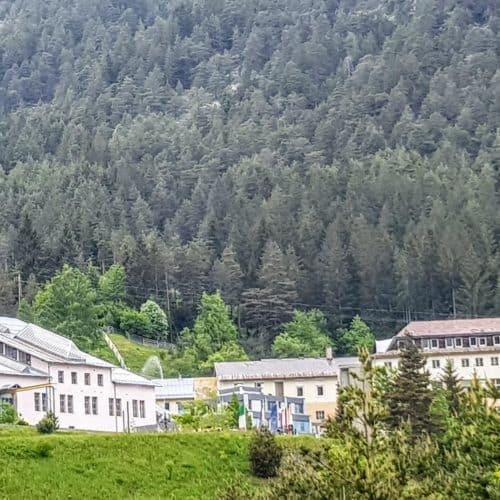 Gebäude Schaubergwerk Terra Mystica - Ausflugsziel in Villach Umgebung