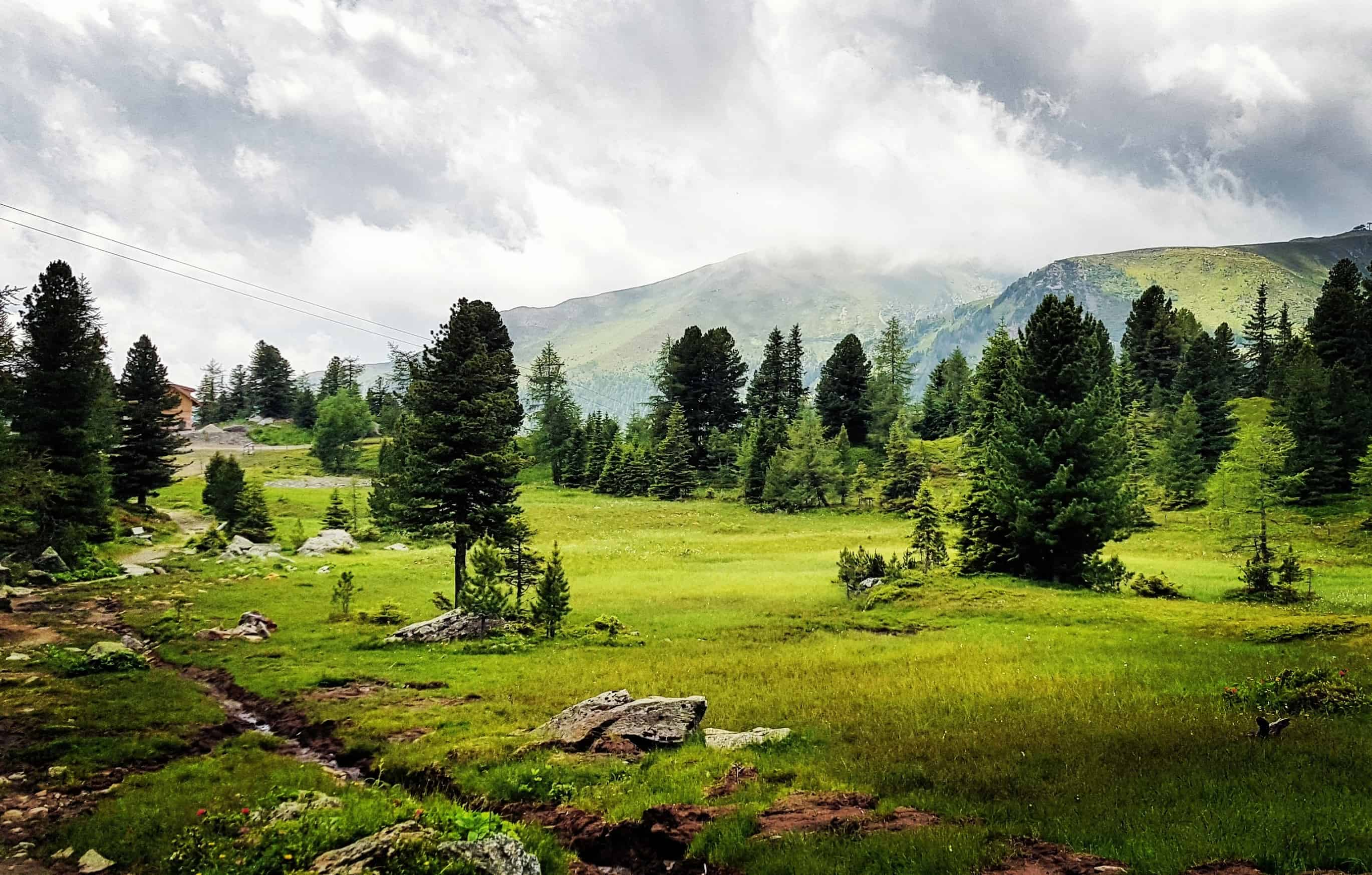 Wanderbare Landschaft Turracher Höhe Kärnten