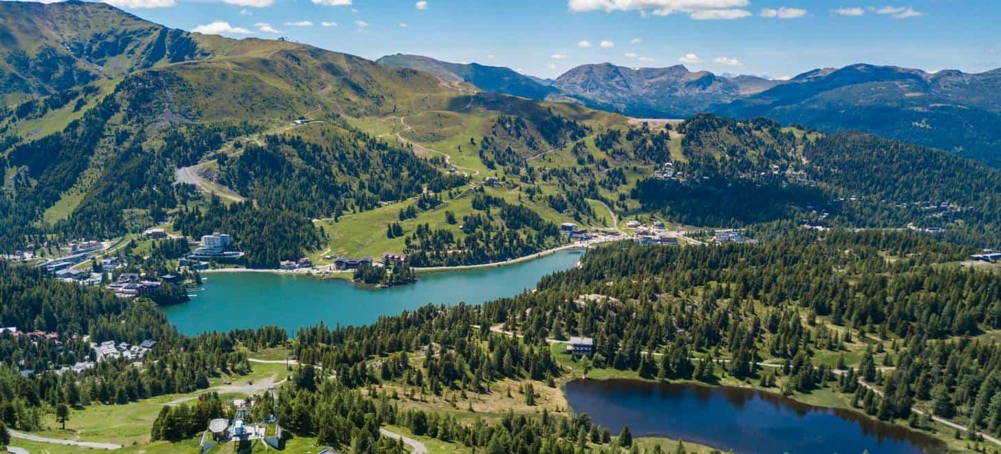 Turracher See und Schwarzsee - Kärnten, Steiermark, Österreich - Urlaubs- & Reiseziel