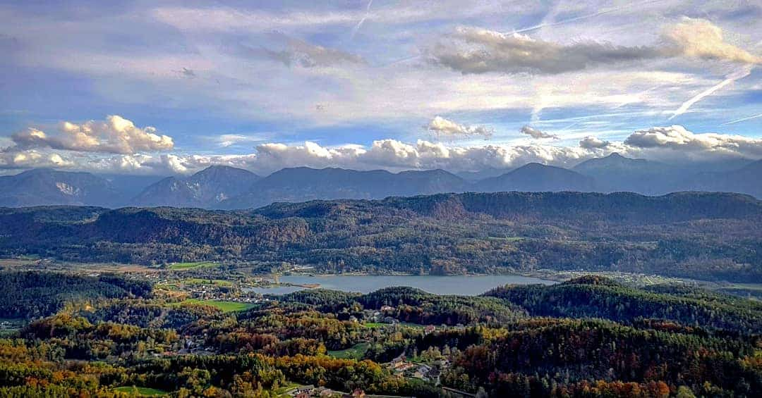 Herbst Kärnten Keutschacher Seental Karawanken Ausflug Pyramidenkogel Sehenswürdigkeit Wörthersee
