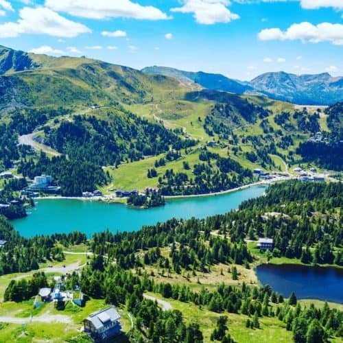 Ausflugstipp Turracher Höhe Kärnten Steiermark Wanderregion Nockberge
