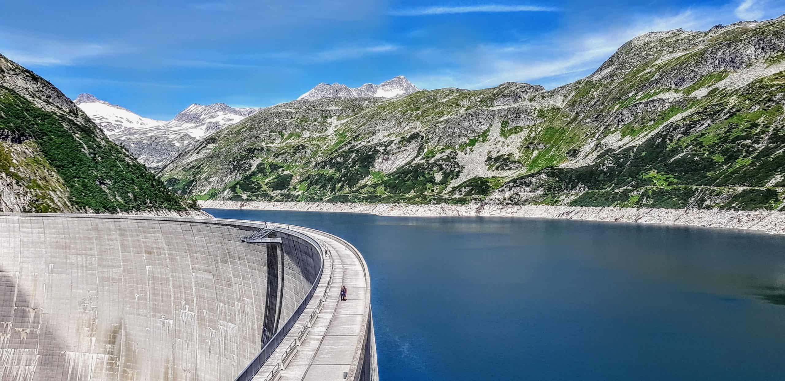 Kölnbrein Staudamm im Kärntner Maltatal - Sehenswürdigkeit in Österreich