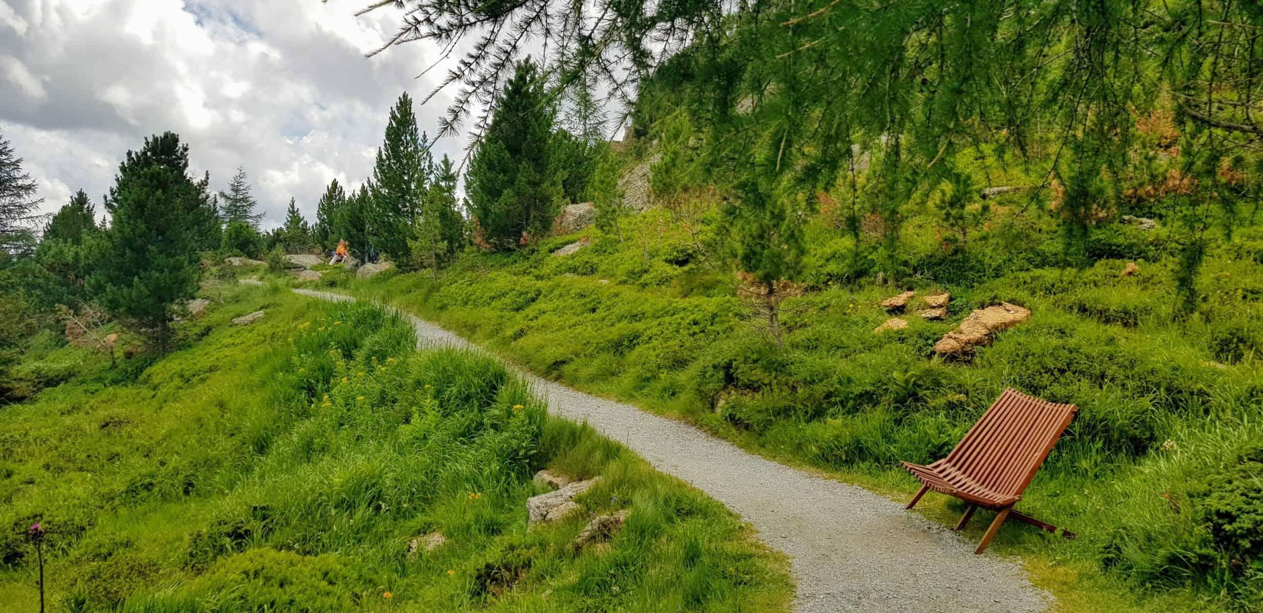 Wandern mit Kindern auf Turracher Höhe Nockys Almzeit Rundwanderweg mit Kinderwagen befahrbar - Familienausflugsziel auf der Turrach