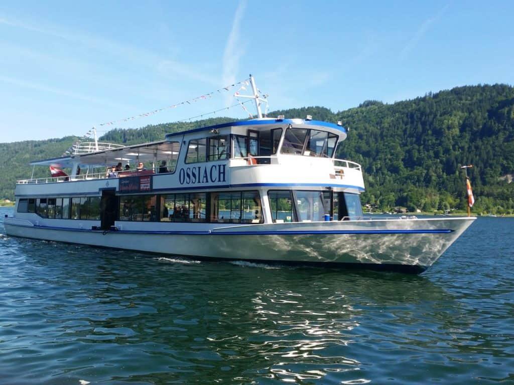 Ausflugsziele Villach Ossiacher See Schifffahrt Kärnten