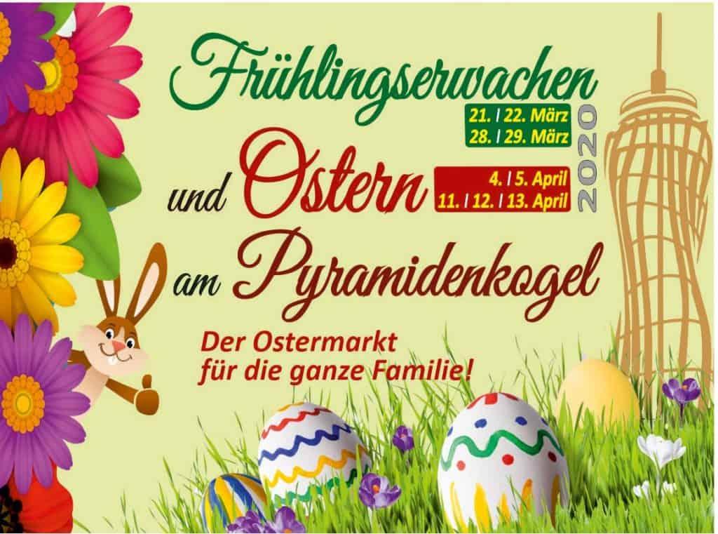 Ostermarkt am Aussichtsturm - Plakat Keutschach Kärnten
